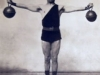 Kettlebell iron cross