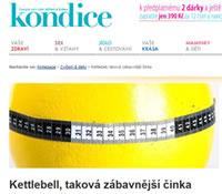 Kettlebells v online časopisu Kondice