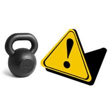 10 pravidel bezpečnosti cvičení s kettlebell