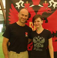 Kettlebell RKC v ČR - Pavel a Justyna