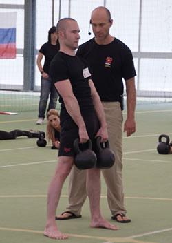 Russian Kettlebell Challenge