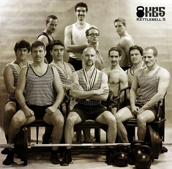 Movember 2012: Kettlebell KB5 Gym, l.p. 1912 (?)