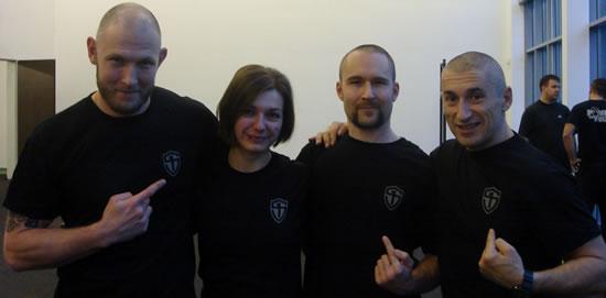 CK FMS - Tommy Blom, Justyna K. Macková, Pavel Macek, Peter Lakatos