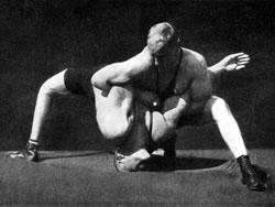Zápasnický most - posilování krku