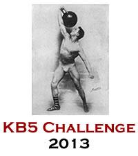 Kettlebell KB5 Challenge 2013!