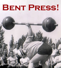 Bob Hoffman - Bent Press