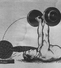 Jak zvětšit objem hrudníku: Alan Calvert a Pull-Over s velkou činkou