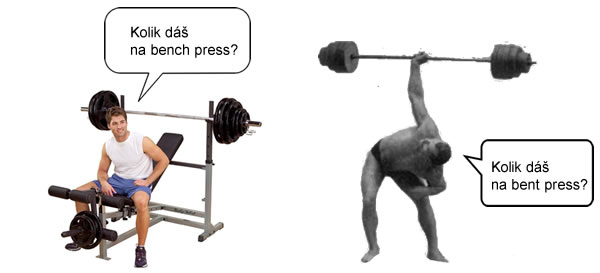 Bench Press vs. Bent Press