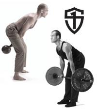 """Pavel Tsatsouline - nejlepší """"spodní tah"""" - kettlebell swng nebo deadlift s velkou činkou?"""