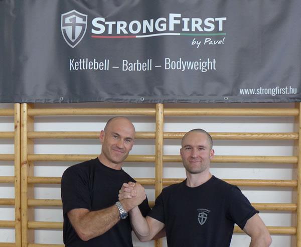 StrongFirst: PAvel Tsatsouline and Pavel Macek