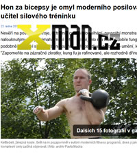 Interview Pavel Macek kettlebell