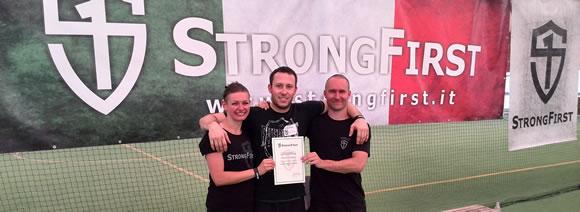 Kettlebell KB5 Gym Brno, Strongfirst
