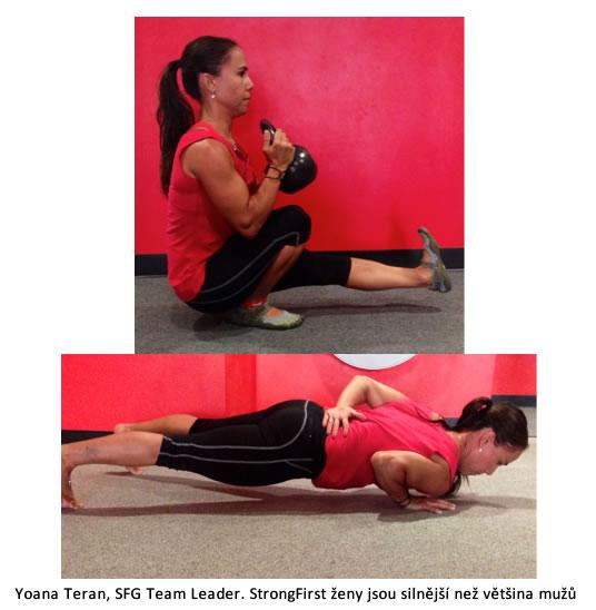 Silový aerobní trénink s kettlebell anebo vlastní vahou