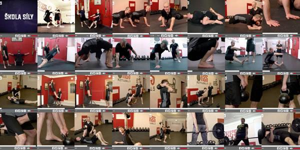 Škola síly: Série výukových videí silového a kondičního tréninku ZDARMA!