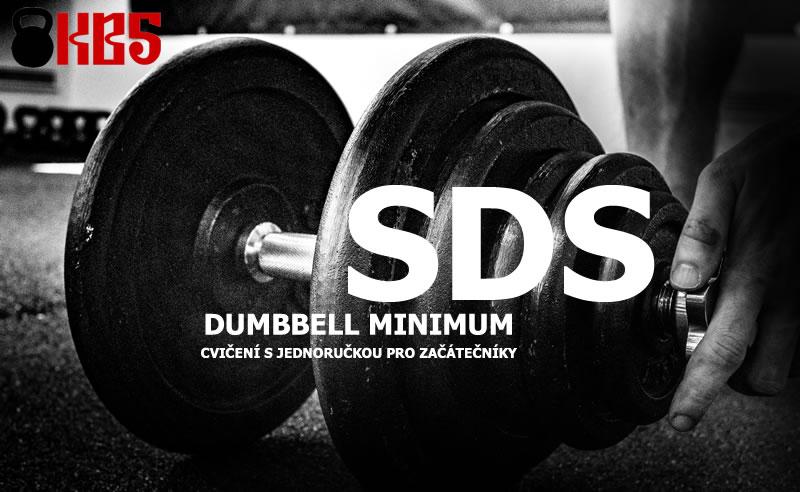 Cvičení s jednoručkou pro začátečníky: SDS Dumbbell Minimum