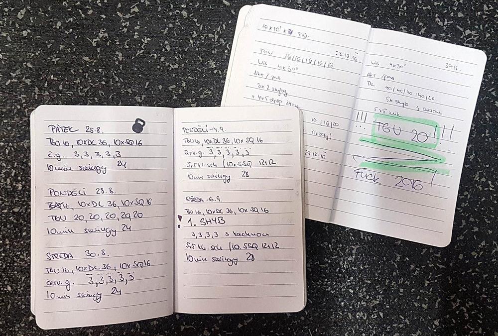 Proč (a jak!) byste si měli psát tréninkový deník