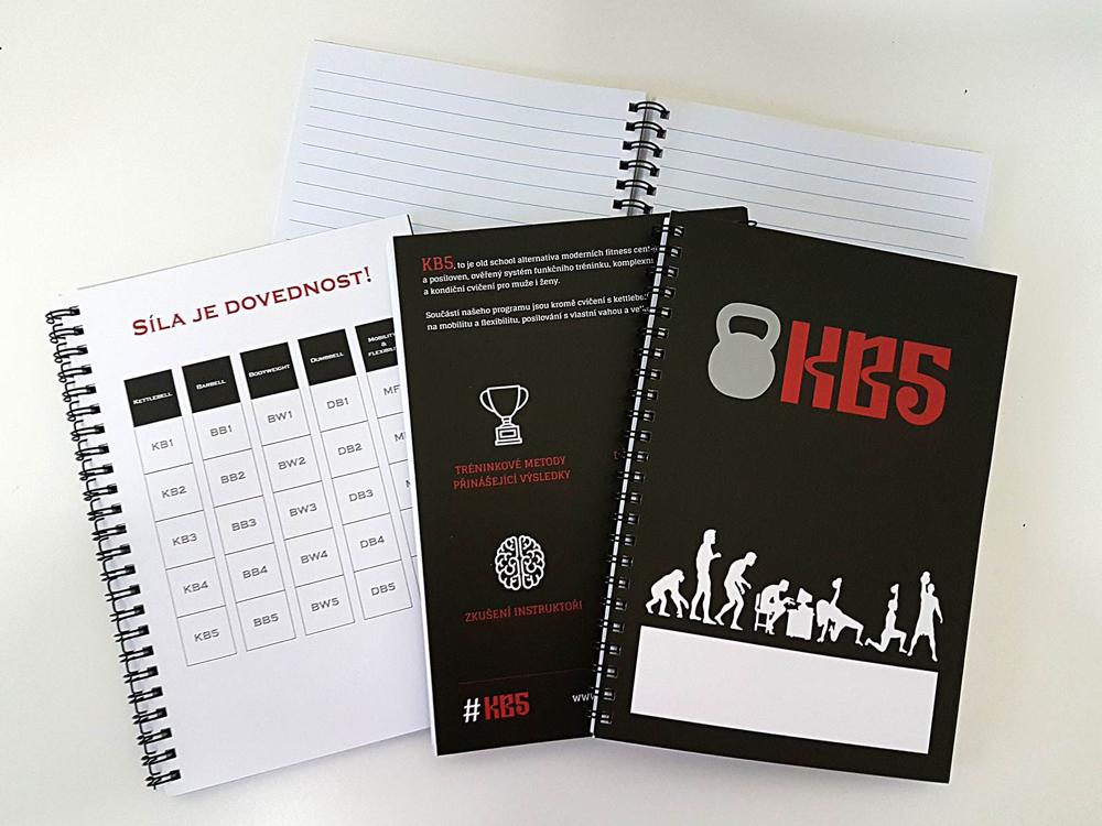 KB5 tréninkový zápisník