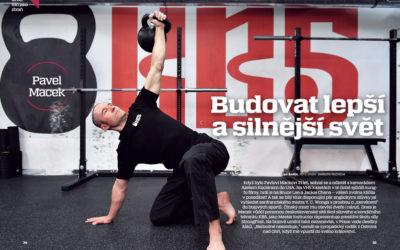 Tělo jako zbraň: Pavel Macek [interview pro magazín iSport LIFE]