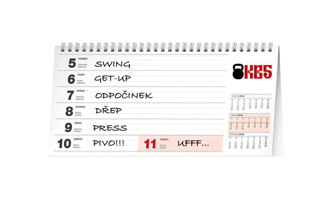 Jeden cvik denně: 2 jednoduché programy pro cvičení s kettlebell anebo velkou činku