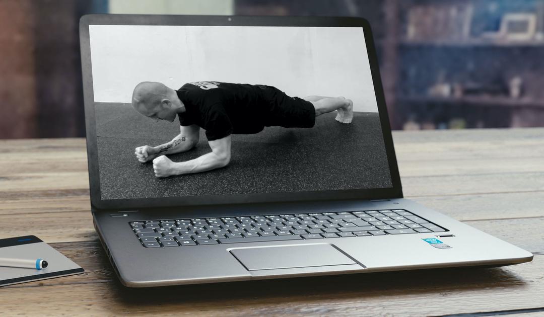 2hodinové výukové video: StrongFirst prkno (plank) a silové dovednosti